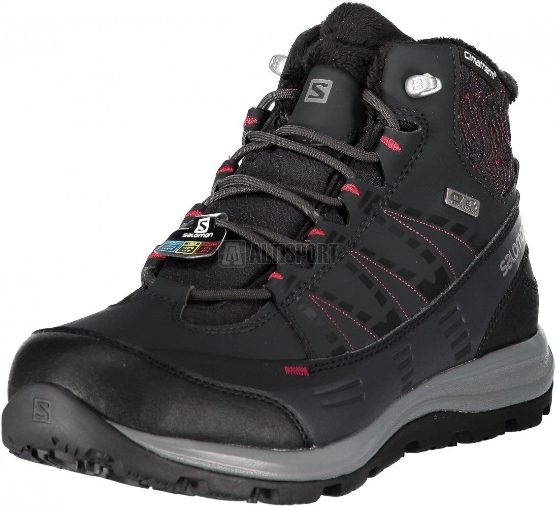 e09a70b1584 Dámské zimní boty SALOMON KAÏNA CS WP 2 L40472800 PHANTOM BLACK BEET ...