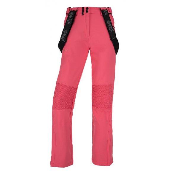 Dámské zimní softshellové kalhoty  KILPI DIONE-W JL0013KI RŮŽOVÁ