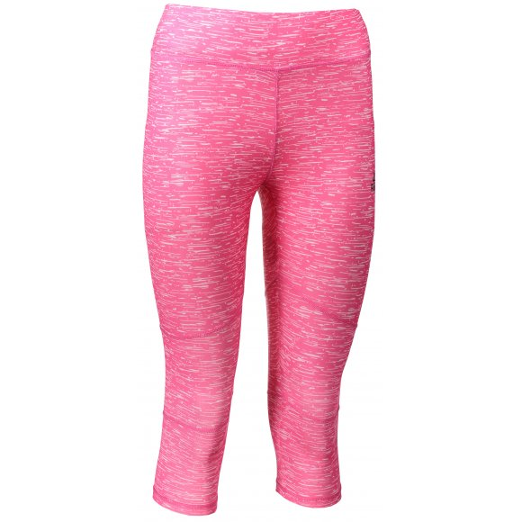 Dámské 3/4 kalhoty PEAK TIGHT 3/4 PANTS FW37712 RŮŽOVÁ