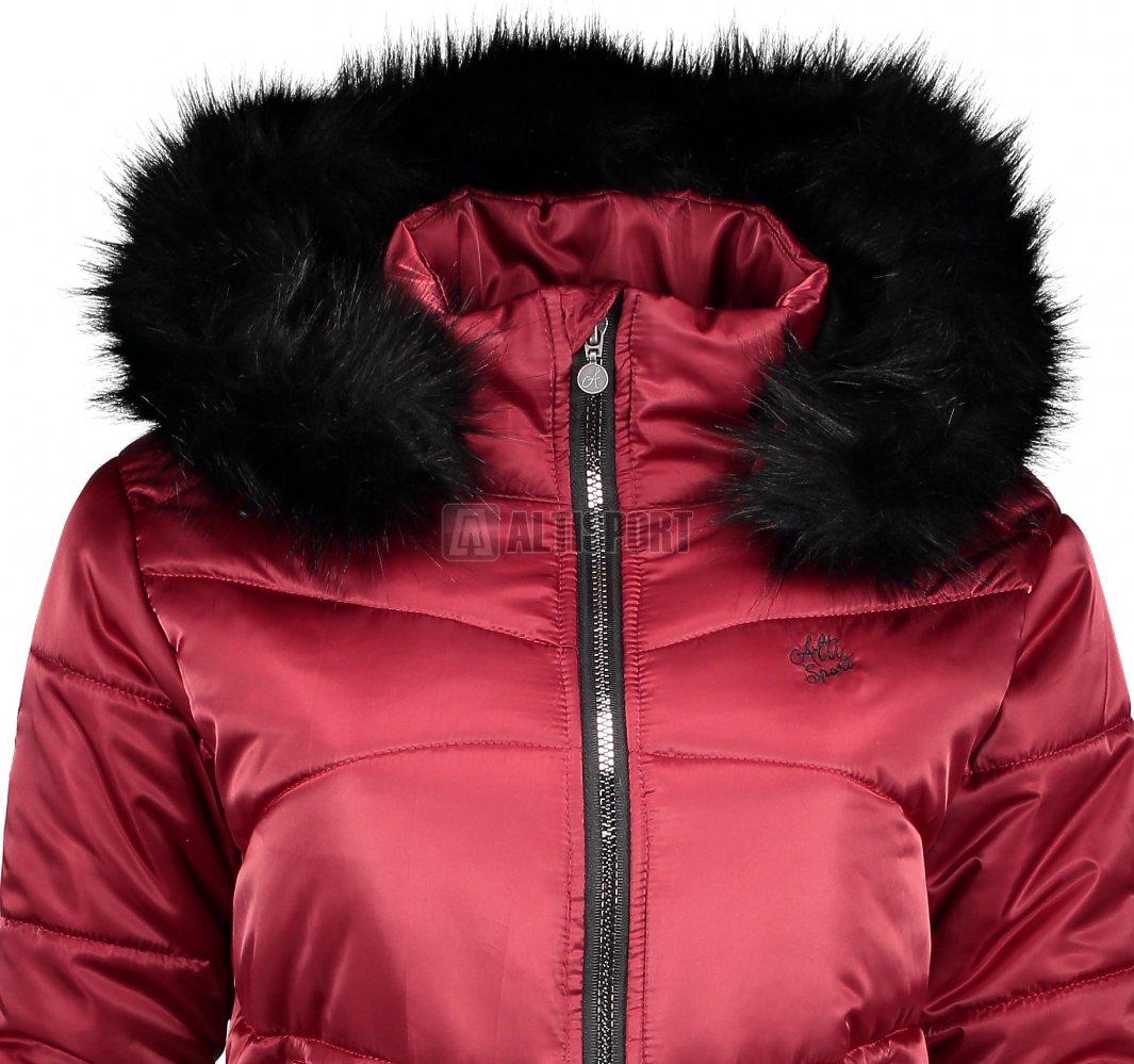 Dámská zimní bunda ALTISPORT TATRE TMAVĚ ČERVENÁ velikost  40 ... 32275107209