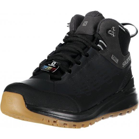 Pánské zimní boty SALOMON KAÏPO CS WP 2 L40471700 BLACK/PHANTOM/MONUMENT