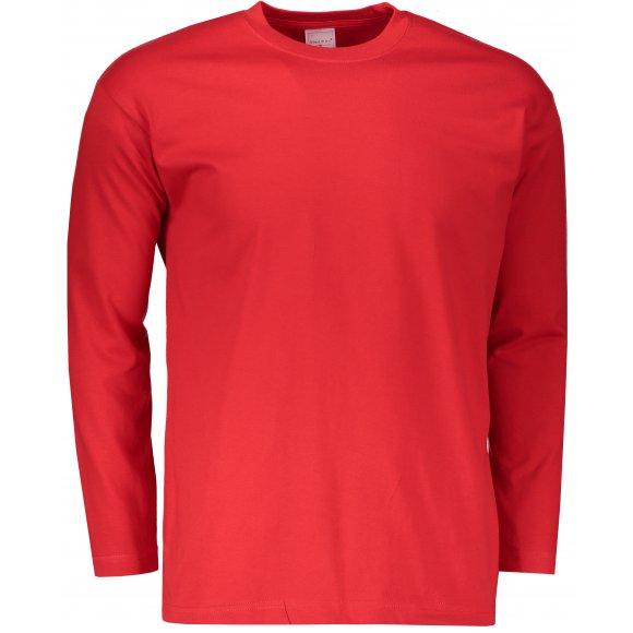 Pánské triko s dlouhým rukávem STEDMAN CLASSIC T SCARLET RED