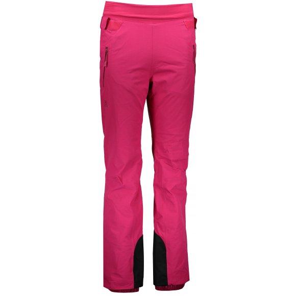 Dámské lyžařské kalhoty SALOMON CATCH ME PANT W L40368800 CERISE