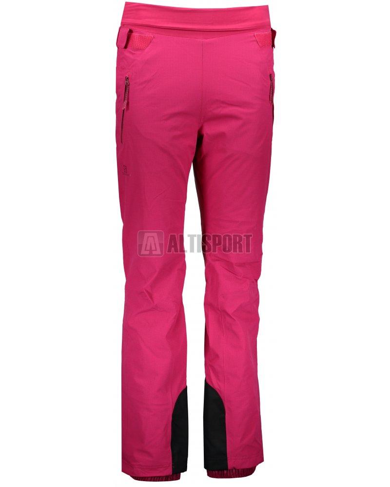 Dámské lyžařské kalhoty SALOMON CATCH ME PANT W L40368800 CERISE ... 48177ad073