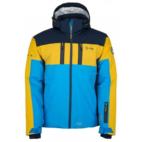 Pánská lyžařská bunda  KILPI FALCON-M JM0146KI MODRÁ