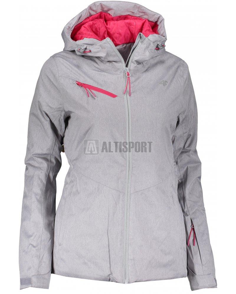Dámská lyžařská bunda 4F KUDN302 COLD LIGHT GREY MELANGE velikost ... b8a08a8c62