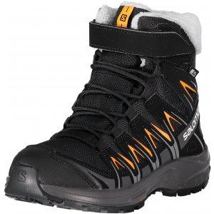 Dětské zimní boty SALOMON XA PRO 3D WINTER TS CSWP J L40651100  BLACK MAGNET TANGELO cbb67fd993