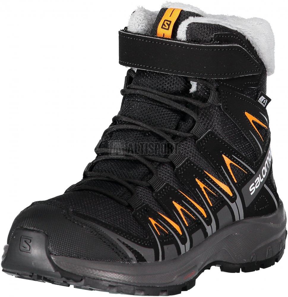 Dětské zimní boty SALOMON XA PRO 3D WINTER TS CSWP J L40651100 BLACK MAGNET  7266cc5a9e