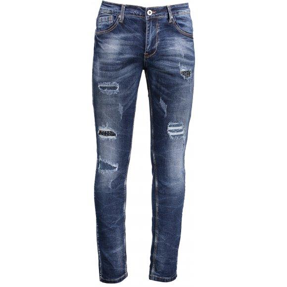 Pánské kalhoty OMBRE AP783 JEANS
