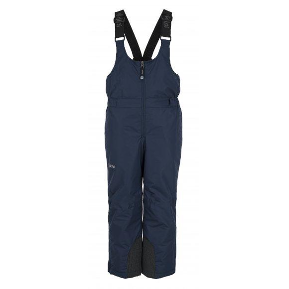 Chlapecké lyžařské kalhoty  KILPI DARYL-JB JJ0012KI TMAVĚ MODRÁ