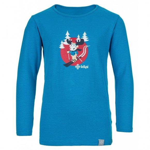 Dětské triko KILPI LERO-J JJ0081KI MODRÁ