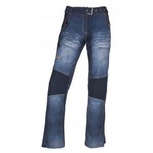 Dámské zimní softshellové kalhoty KILPI JEANSO-W JL0023KI MODRÁ 7c216fa57d