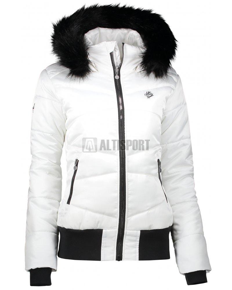 Dámská zimní bunda ALTISPORT TATRE BÍLÁ velikost  36   ALTISPORT.cz 37cd2e918e7