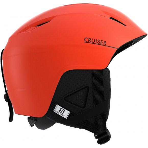 Pánská lyžařská helma SALOMON CRUISER+ L40569800 ORANGEADE