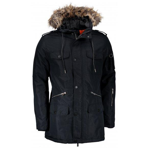Pánská bunda OMBRE AC382 BLACK