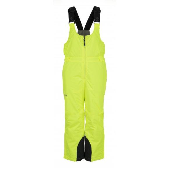 Chlapecké lyžařské kalhoty  KILPI DARYL-JB JJ0012KI ŽLUTÁ