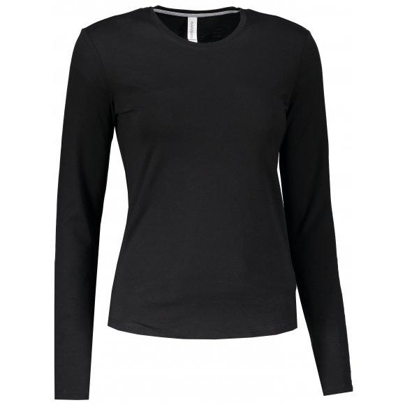 Dámské triko s dlouhým rukávem KARIBAN BLACK