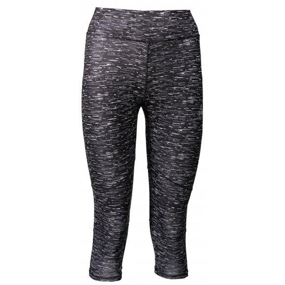 Dámské 3/4 kalhoty PEAK TIGHT 3/4 PANTS FW37712 ČERNÁ