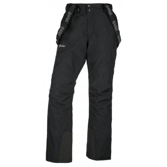 Chlapecké lyžařské kalhoty  KILPI MIMAS-JB JJ0011KI ČERNÁ