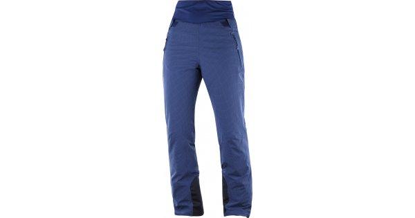 Dámské lyžařské kalhoty SALOMON CATCH ME PANT W L40450200 MEDIEVAL BLUE  velikost  L   PARANAL.cz a2058f5ba9