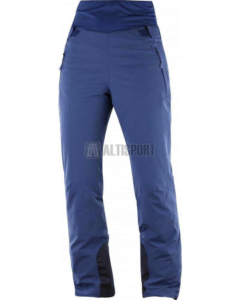 Dámské lyžařské kalhoty SALOMON CATCH ME PANT W L40450200 MEDIEVAL BLUE 86ba1b8b69