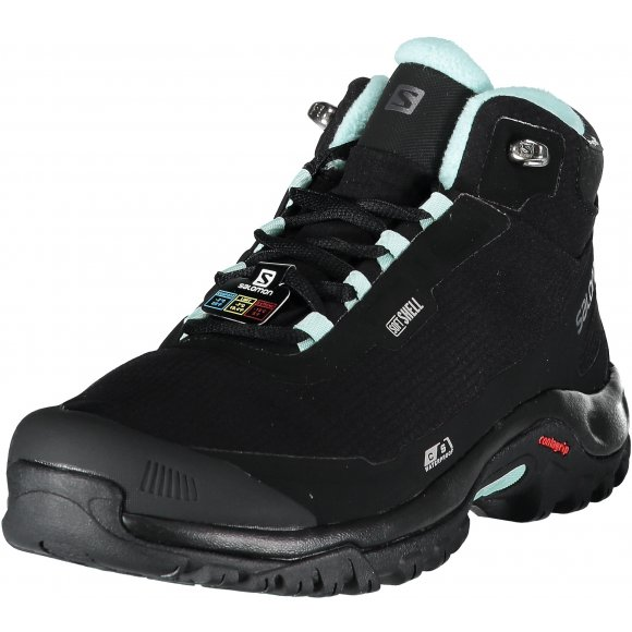 Dámské zimní boty SALOMON SHELTER CS WP W L40473100 BLACK/BLACK/EGGSHELL BLUE