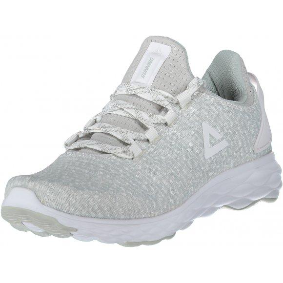 Dámské běžecké boty PEAK CUSHION RUNNING SHOES EW83018H BÍLÁ/ŠEDÁ