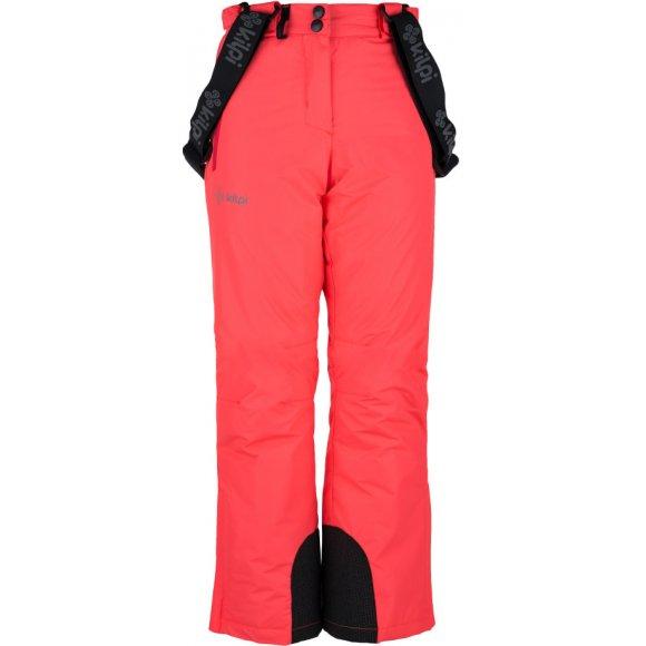 Dívčí lyžařské kalhoty  KILPI ELARE-JG JJ0023KI RŮŽOVÁ
