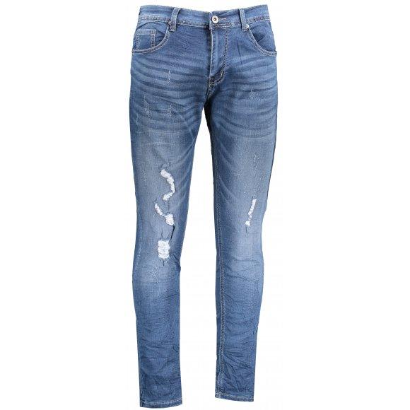 Pánské kalhoty OMBRE AP776 JEANS