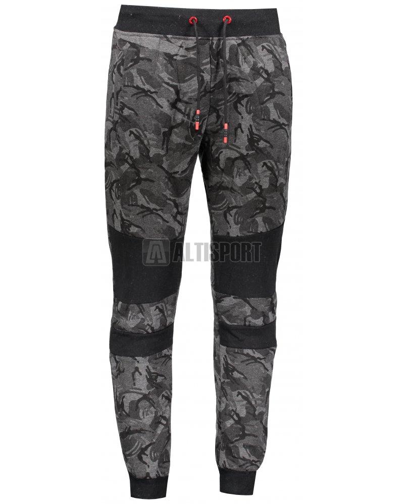 eac6d0e869c Pánské kalhoty OMBRE AP725 DARK GREY velikost  XXL   PARANAL.cz