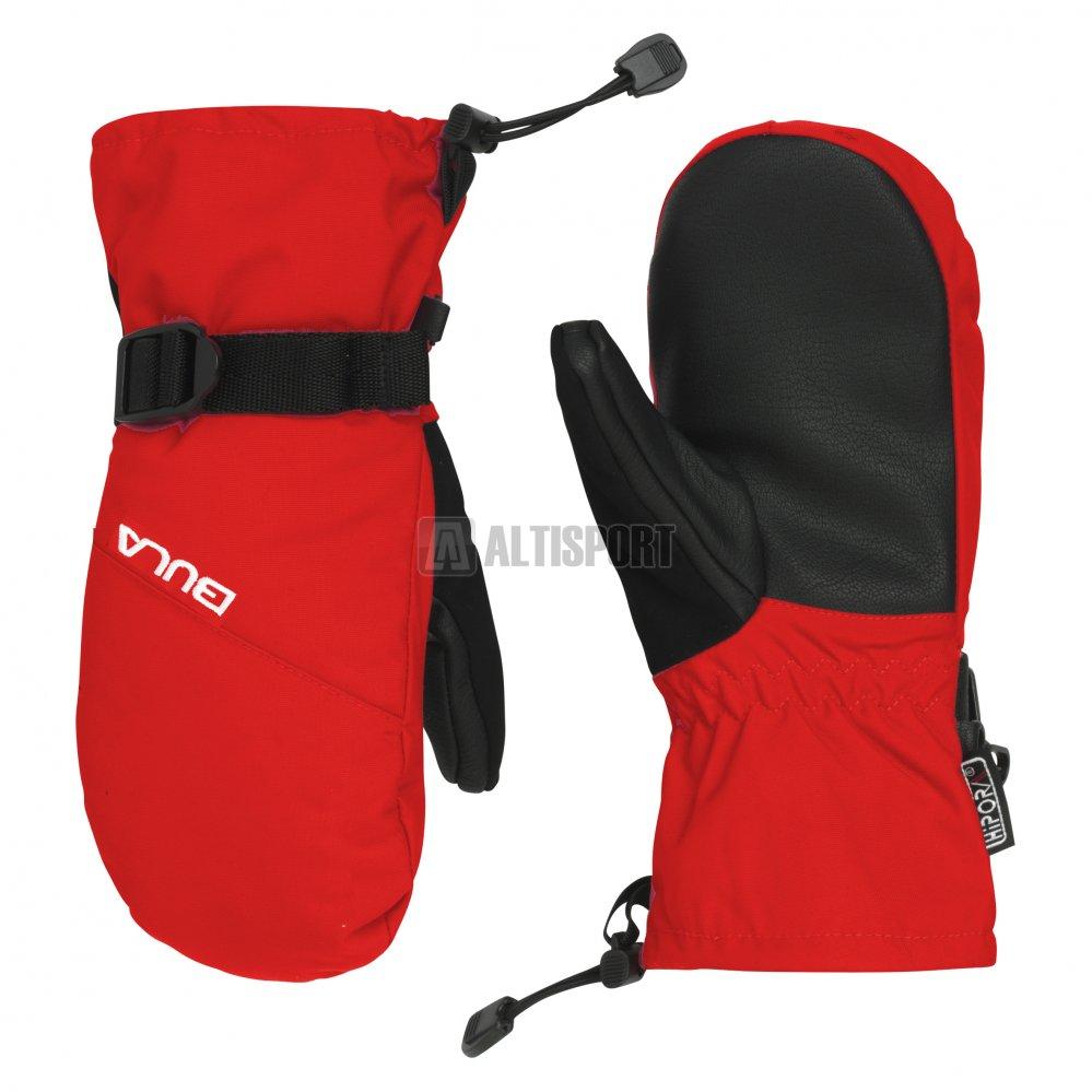 Dětské zimní rukavice BULA COACH MITTENS JR 712560 RED velikost  14 ... 32fc19df22
