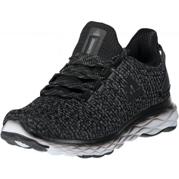 Pánské běžecké boty PEAK CUSHION RUNNING SHOES E83017H ČERNÁ
