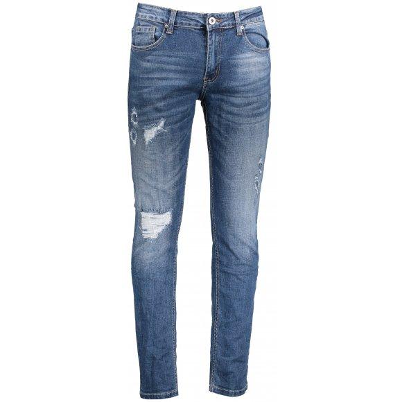 Pánské kalhoty OMBRE AP786 JEANS