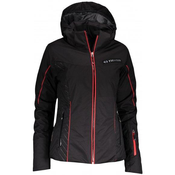Dámská lyžařská bunda TRIMM SAWA BLACK/RED