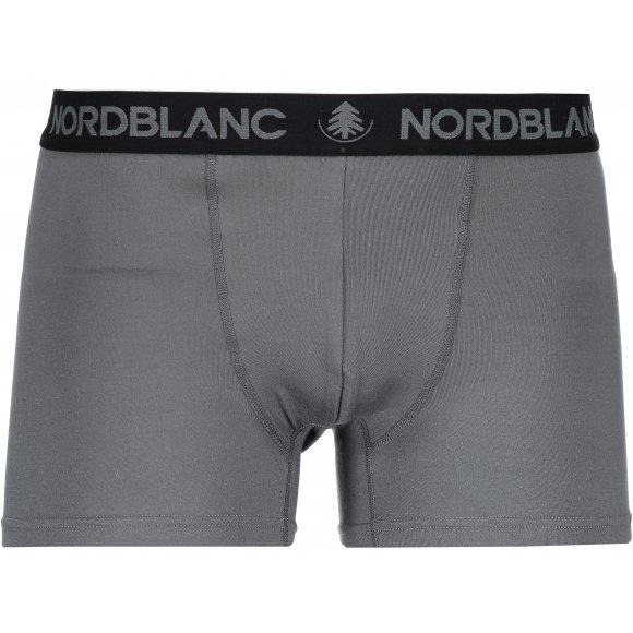 Pánské boxerky NORDBLANC NBSPM6865 TMAVĚ ŠEDÁ