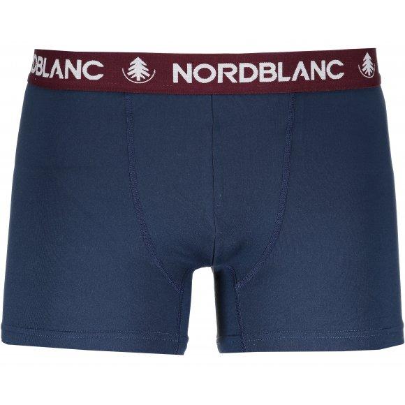 Pánské boxerky NORDBLANC NBSPM6865 TEMNÁ MODRÁ