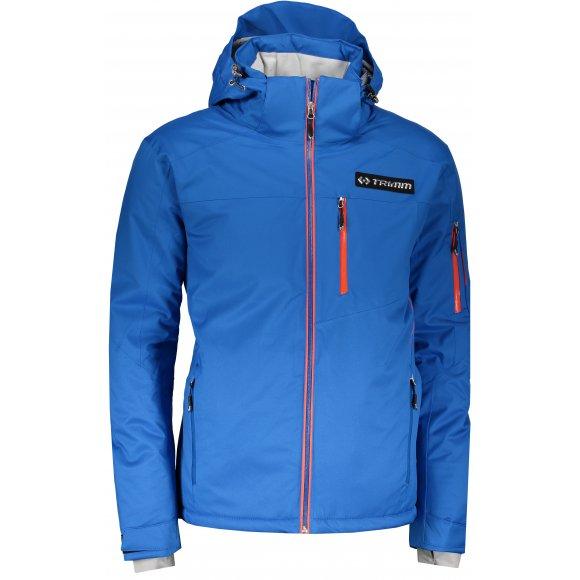 Pánská lyžařská bunda TRIMM FALCON SEA BLUE/ORANGE