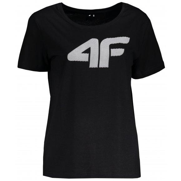 Dámské tričko 4F TSD304 DEEP BLACK