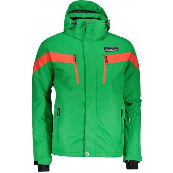 Pánská lyžařská bunda TRIMM SPECTRUM GREEN/ORANGE