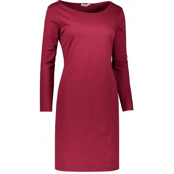 Dámské šaty NUMOCO A209-3 VÍNOVÁ