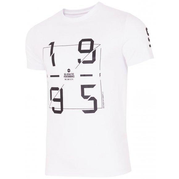 Pánské tričko 4F TSM242 WHITE
