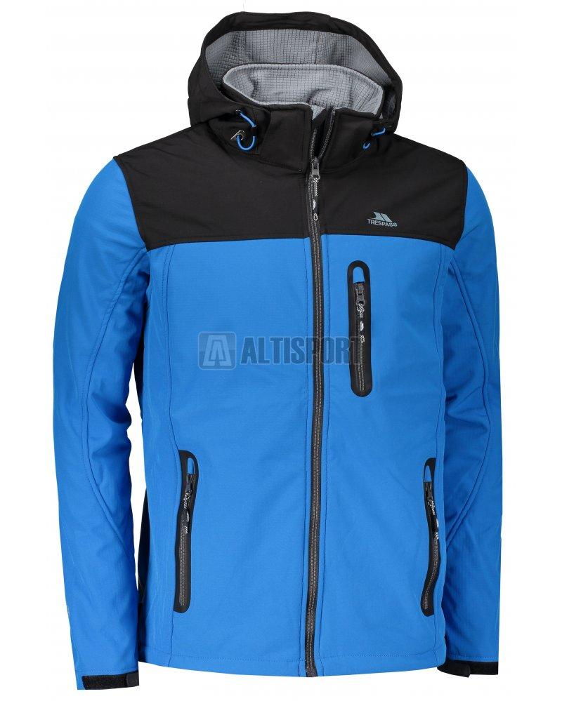 79e5a48cbd0 Pánská softshellová bunda TRESPASS HEBRON BRIGHT BLUE velikost  L ...