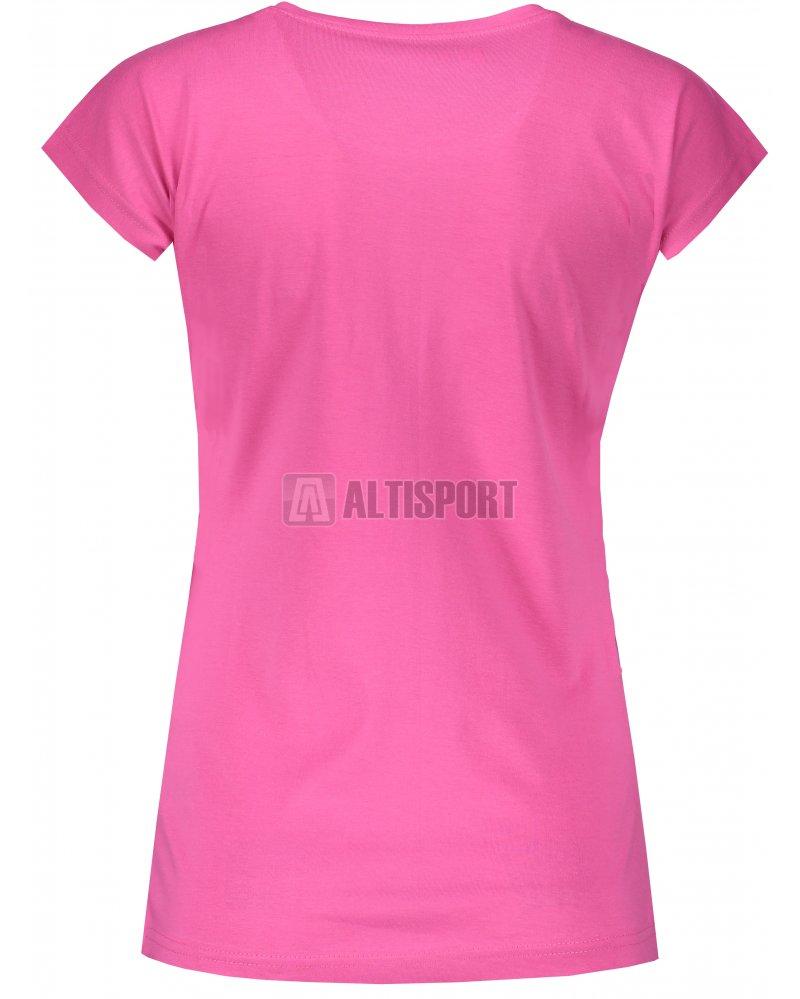85cdb1bd07c Dámské triko s krátkým rukávem ALTISPORT ODRIA LTSN524 RŮŽOVÁ ...