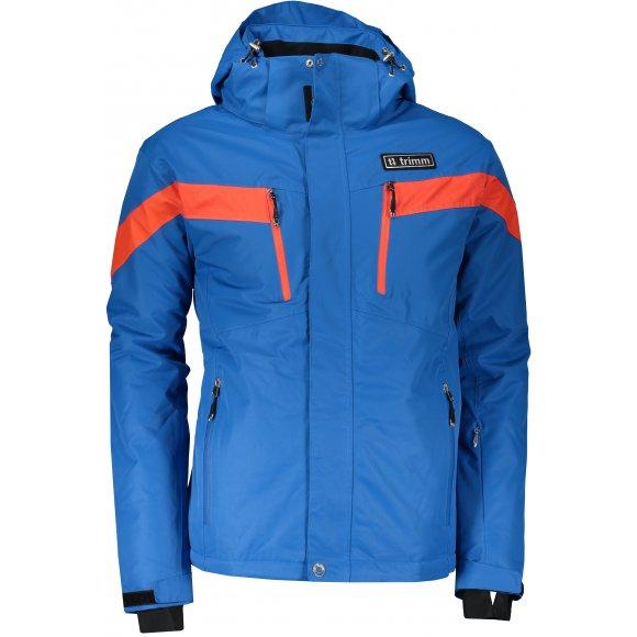 Pánská lyžařská bunda TRIMM SPECTRUM JEANS BLUE/ORANGE