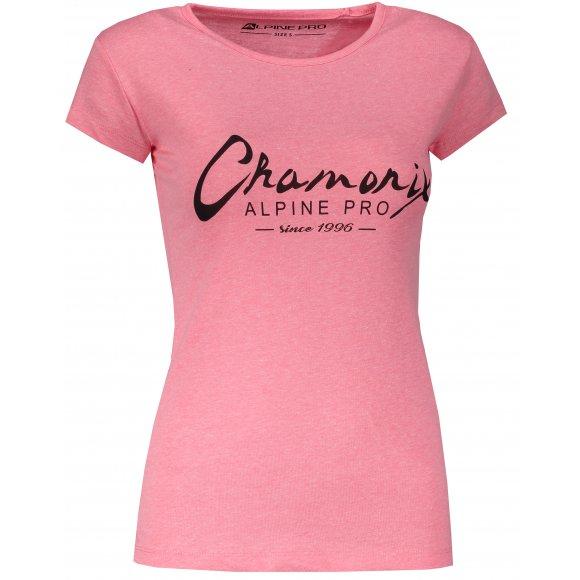Dámské triko ALPINE PRO BORRA LTSM460 RŮŽOVÁ