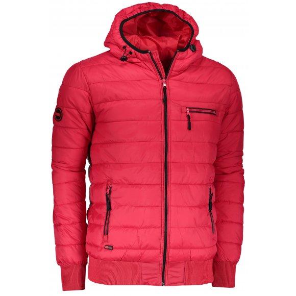 Pánská bunda OMBRE AC353 RED