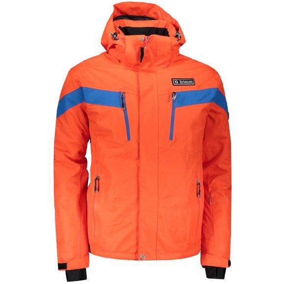 Pánská lyžařská bunda TRIMM SPECTRUM ORANGE/JEANS BLUE