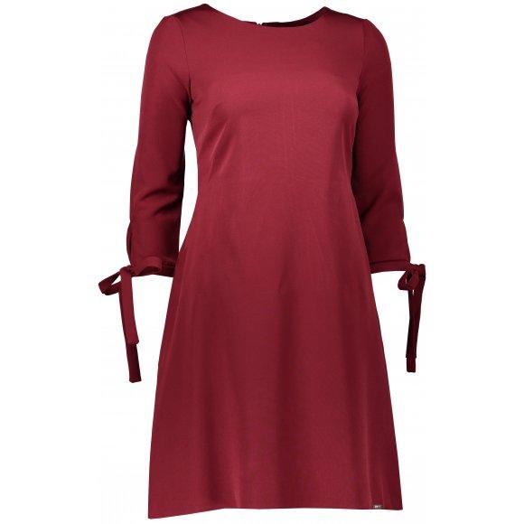 Dámské šaty NUMOCO A195-3 VÍNOVÁ