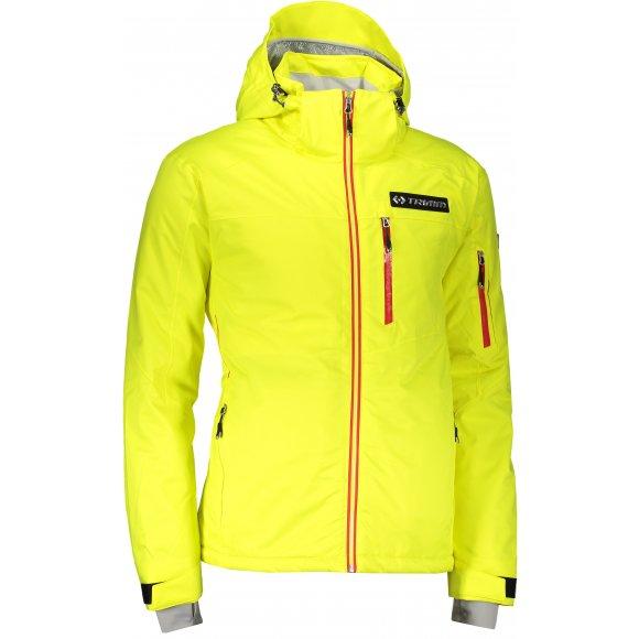 Pánská lyžařská bunda TRIMM FALCON LEMON/RED