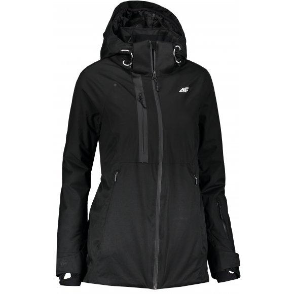 Dámská lyžařská bunda 4F KUDN206 DEEP BLACK